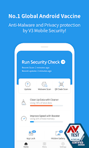 V3 Mobile Security  For Pc – Run on Your Windows Computer and Mac. 1