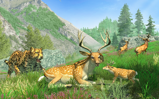 Sniper Clash Jungle Hunting Animal Shooting Games apkdebit screenshots 7