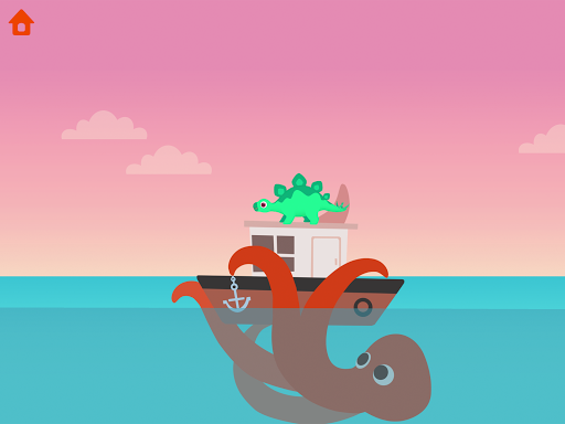 Dinosaur Patrol Boat - Coast Guard Games for kids apkmr screenshots 18