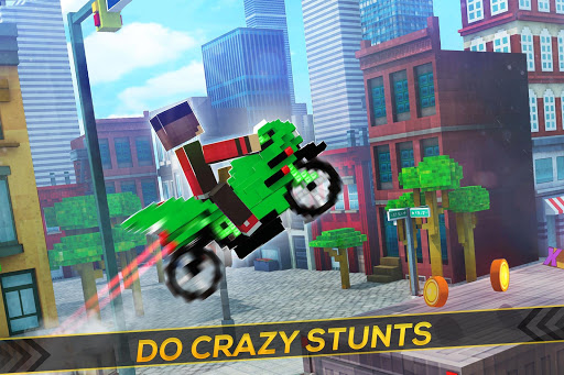 Blocky Superbikes Race Game - Motorcycle Challenge 2.11.43 screenshots 2