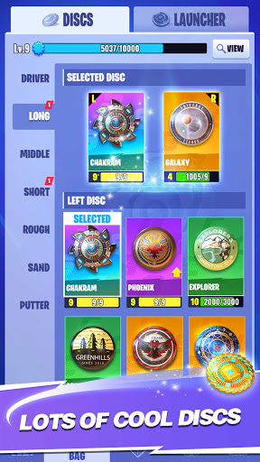 Code Triche Disc Golf Rival (Astuce) APK MOD screenshots 5