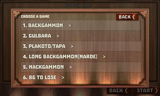Backgammon Pack : 18 Games modavailable screenshots 2