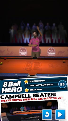 8 Ball Hero - Pool Billiards Puzzle Game  Screenshots 1