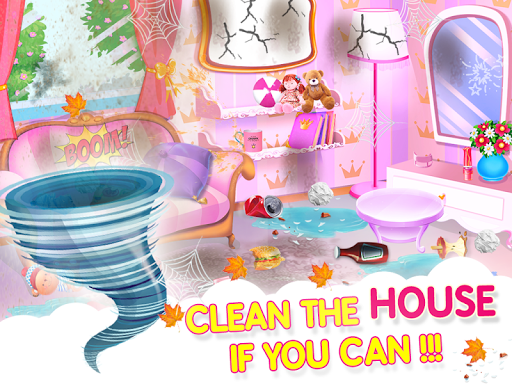 Princess House Cleanup For Girls: Keep Home Clean apkpoly screenshots 15