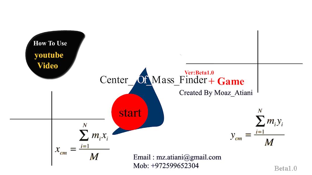 Center Of Mass Finder