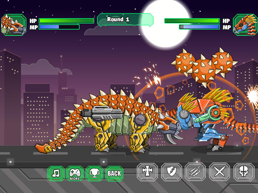 Robot Ankylosaurus Toy War screenshots 9