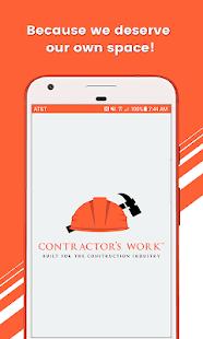 Contractor's Work: Built for Contractors