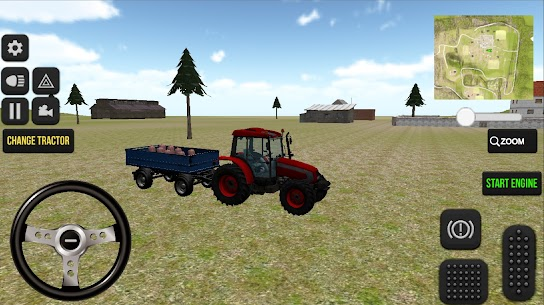 Real Farm Tractor Game 2021 3D Apk 5