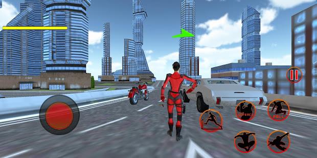 Flying Girl Rope Hero Spider Swing Game 1.3.1 screenshots 1