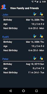 Age Calculator - Birthday reminder free