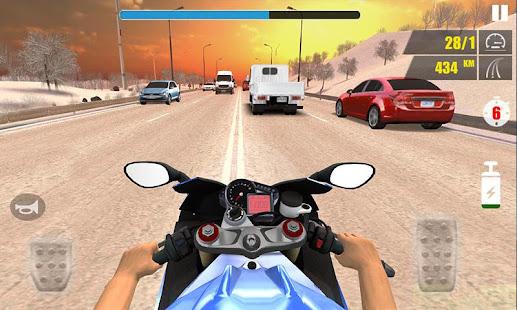 Traffic Speed Moto Rider 3D 2.0.1 Screenshots 4