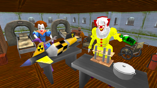 Clown Brothers. Neighbor Escape 3D apkpoly screenshots 5