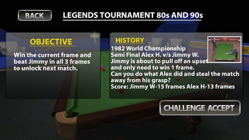 Snooker Knockout Tournament 1.0.15 screenshots 2