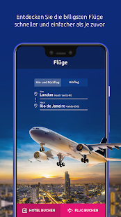 eSky  - Flüge, Hotels, Autos, Flugtickets Screenshot