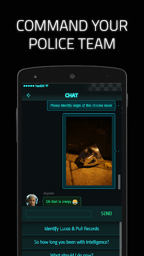 Dead Man's Phone: Interactive Crime Drama apkpoly screenshots 12