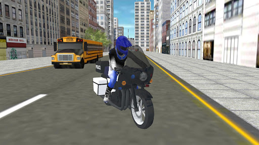 Real Police Motorbike Simulator 2020 1.7 screenshots 5