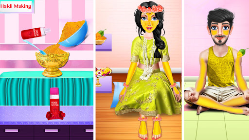 Indian Wedding Girl - Makeup Dressup Girls Game 1.0.3 screenshots 21