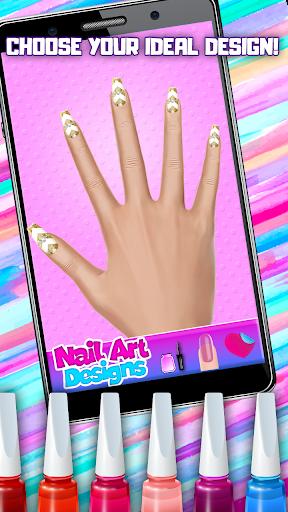 Fashion Nail Art - Manicure Salon Game for Girls 1.3 Screenshots 3