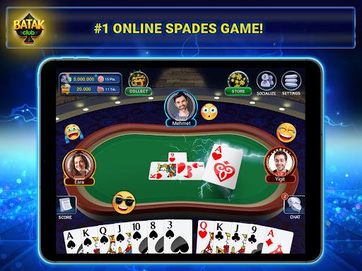 Batak Club - Online & Offline Spades Game 7.1.28 screenshots 9
