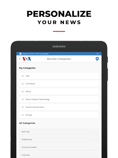 VOA News 4.2.2 Screenshots 17