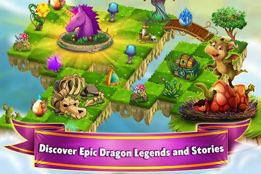 Dragon Land - Merge, Collect & Evolve Dragons! screenshots 7