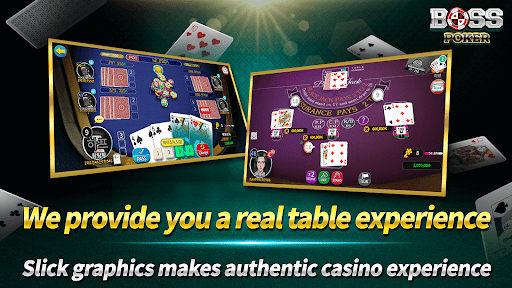 Boss Poker u2013 Texas Holdem Blackjack Baccarat Apkfinish screenshots 6