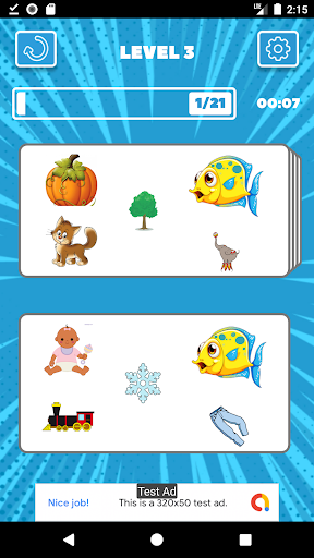 Twins - Find & Connect Pair Matching Puzzle Game  screenshots 3