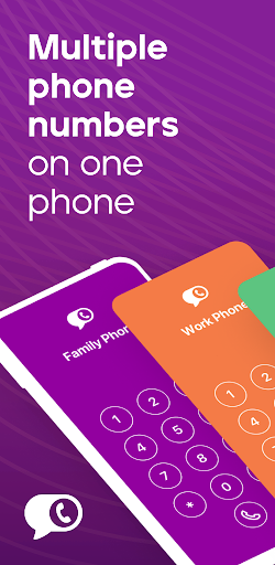 Burner - Private Phone Line for Texts and Calls apktram screenshots 1