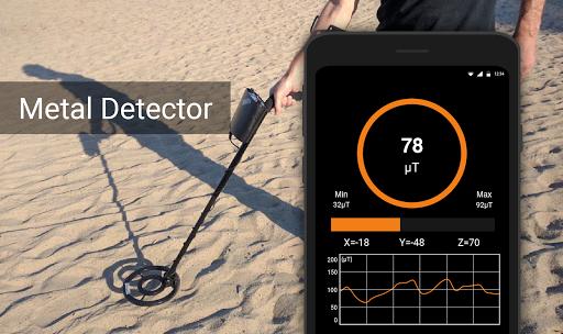 Download APK: Metal Detector – EMF detector, Body scanner v5.7 [Premium]