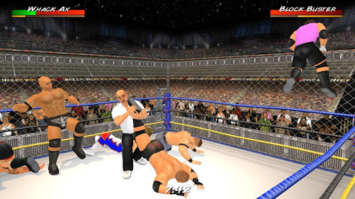 Wrestling Revolution 3D screenshots 1