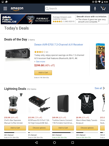 Foto do Amazon for Tablets