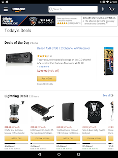 Amazon for Tablets Screenshot