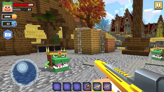 Fire Craft: 3D Pixel World MOD (Unlimited Money) 1