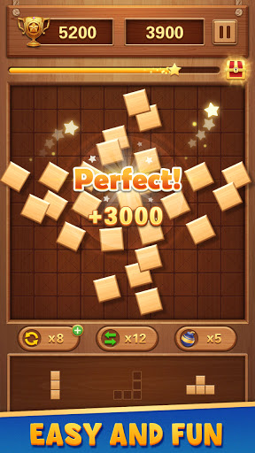 Wood Block Puzzle - Free Classic Brain Puzzle Game 1.5.3 screenshots 12