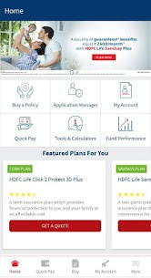 HDFC Life Insurance App Apk 1