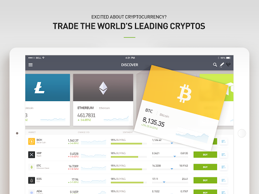 eToro - Smart crypto trading made easy 287.0.0 Screenshots 9