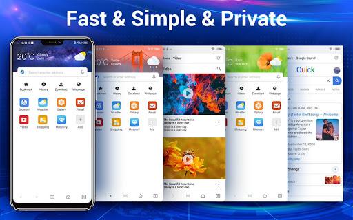 Web Browser & Web Explorer android2mod screenshots 1