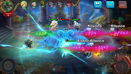 Runelords Arena: Tactical Hero Combat IDLE RPG Apk Mod + OBB/Data for Android. 7