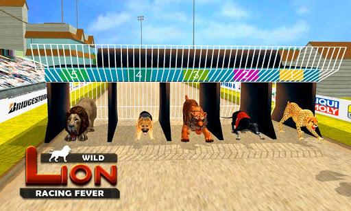 Wild Lion Racing Fever : Animal Racing apkdebit screenshots 2