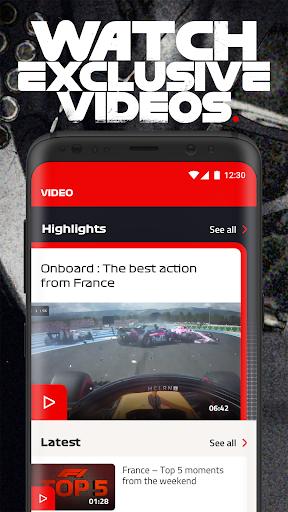 Formula 1u00ae apktram screenshots 5