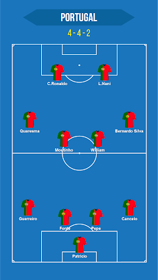 Football Squad Builder : Build your own lineup 11のおすすめ画像5