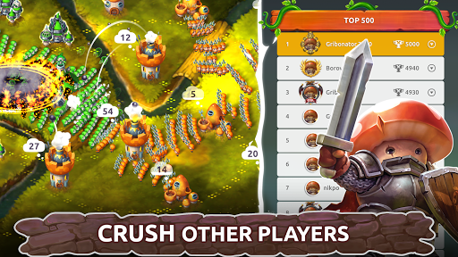 Mushroom Wars 2: Real-time war strategy ud83cudf44 Defense  screenshots 6