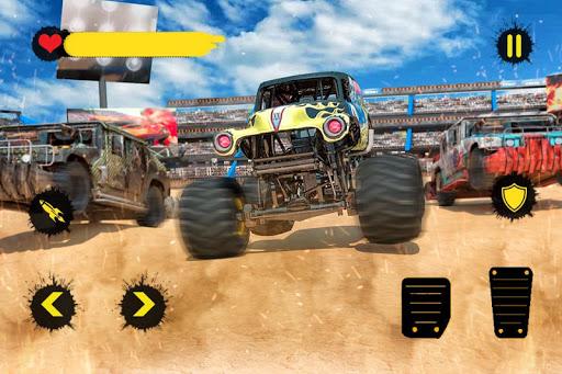 Monster Truck Crash Derby : Fearless Stunts 2019 1.8 Screenshots 6