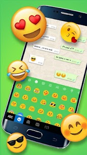 Chatting Messenger Keyboard Theme 3