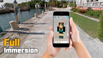 AR Skin Editor for Minecraft AR Augmented Reality