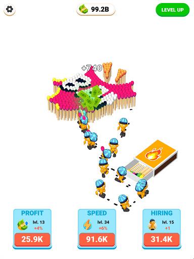 Matches Craft - Idle Game 1.0 screenshots 6