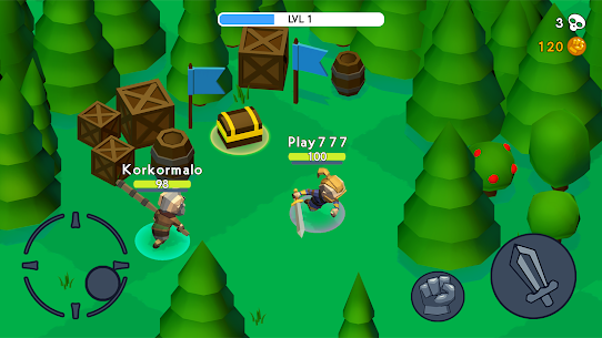 HeadHunters io Mod Apk (Unlimited Gold/ Unlocked Character) 8