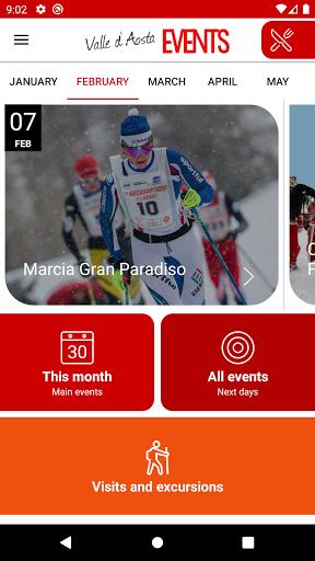 Valle d'Aosta Events 2.0.4 screenshots 1
