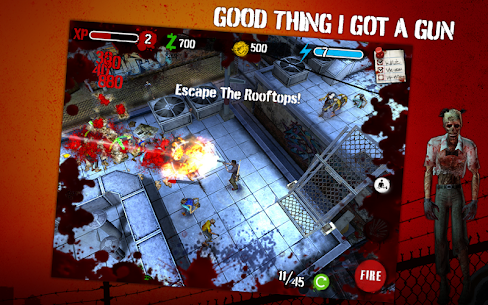 Zombie HQ (обновлено v 1.8.0) + Мод (много денег) 2