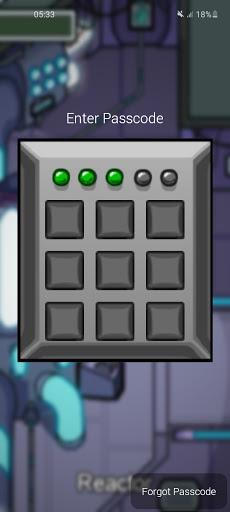 AmongLock - Among Us Lock Screen android2mod screenshots 1